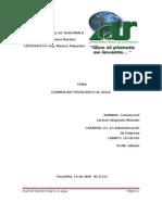 Analisis Bacteriologicos Del Agua