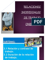 Unidad 3 Relaciones Individuales de Trabajo Plus 2