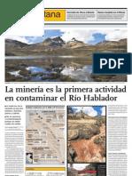 2011-06-13 El Comercio a14 [Mineria Contamina El Rio Rimac]