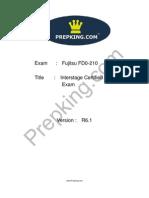 Prepking FD0-210 Exam Questions