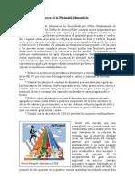 Consideraciones acerca de la Pirámide Alimenticia 2011