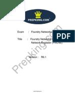 Prepking FN0-202 Exam Questions