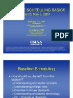 Baseline Scheduling Basics - Part-2