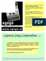 Capoeira Song Compendium Version 1.0 International