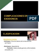 Complicaciones en Exodoncia
