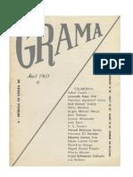 Revista de poesia GRAMA nº 4