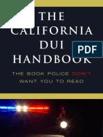 The California DUI Handbook