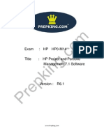 Prepking  HP0-M14Exam Questions