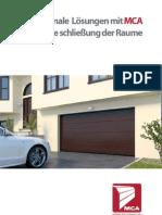 DE - Garage Doors Brochure - MCA - Factory www.mcagrup.ro