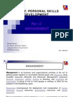 Part 2 - Level of Management [Compatibility Mode]