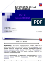 Part 2 - Level of Management [Compatibility Mode]