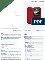 Alcatel OT 813D Android DualSIM - Manual Spanish