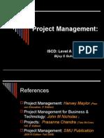 Project Management Lvl a Prt II 2009_11_edn 3