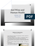 Red Wine and Human Health