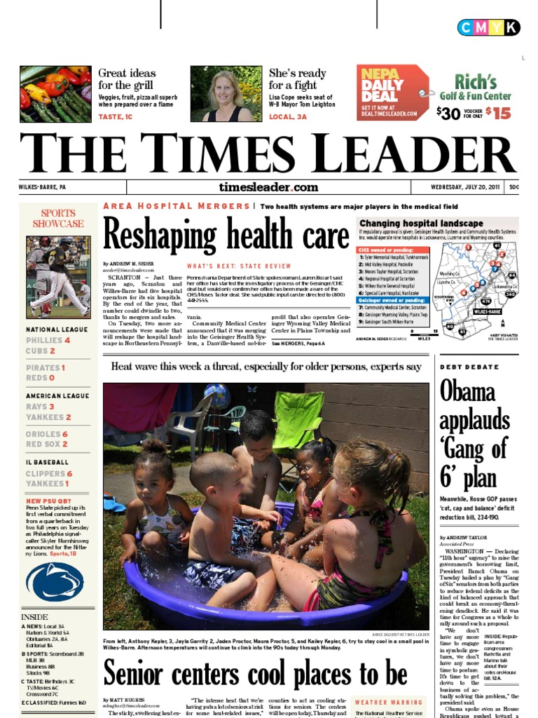 Times leader 07 20 2011 wilkes barre business fandeluxe Gallery