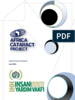 IHH Africa Cataract Project Sudan Country Report