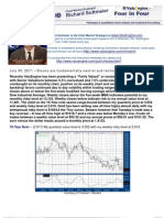 Stocks are fundamentally neutral and technically mixed.