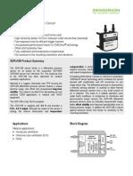 Datasheet Differential Pressure Sensor SDP1108 SDP2108