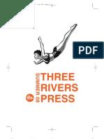 Summer 2008 Three Rivers Press catalog