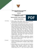 Permendagri No. 54 Tahun 2009 Tentang Tata Naskah Dinas