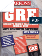 Grubers Complete Gre Guide 2012 Pdf