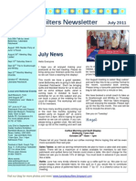 2011 July Newsletter Web