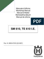 2008 Husqvarna SM-TE 610IE Service Manual