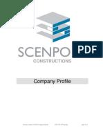 Scenport Constructions Company Profile