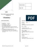 2010 JR HSC Chemistry Trials