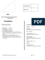 2010 JR HSC Chemistry Trials
