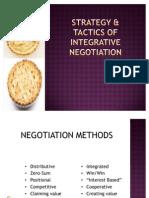 (Chap 3) Strategy & Tactics of Integrative Negotiation