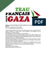 Un bateau pour Gaza