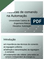 Hidráulica E Pneumática - Técnicas De Comando Na Automação