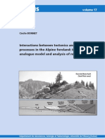 Bonnet - 2007 - Interactions Between Tectonics and Surface Processes in the Alpine Foreland Insights From Analogue Model and Analysis of Recent Faulting
