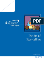 Art of Storytelling Blue Paper