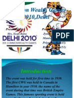 Common Wealth Games Ppt
