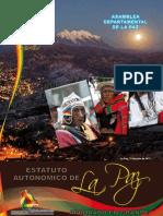 Estatuto Autonómico de La Paz (Aprobado en Grande)