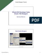 Oracle Intro to Designer