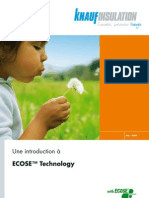 ECOSE Technology Brochure French Version