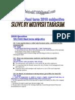 MGT602 Finalterm Subjective-By Kamran