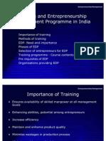 13735241 Entrepreneurial Development in India and EDP