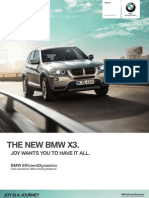 BMW X3 Catalogue