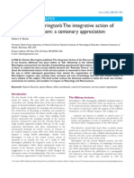 """An appreciation of Sherrington's """"The integrative action of the nervous system"""""""