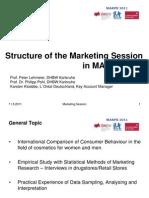Marpe Marketing Projekt 11-5-11