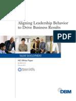 DBM Aligning Leader Behavior