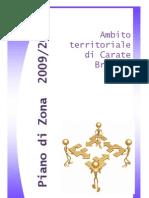 Piano Di Zona 2009-2011 Completo