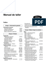 Manual Ford Fiesta Motor 1.6