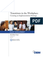 DBM Managing Transitions in the Workplace