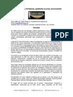 Potencial Aurifero Aluvial en El Ecuador