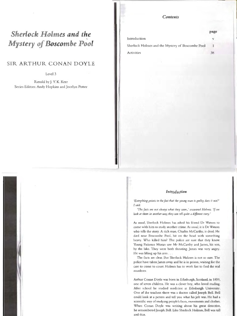 Sherlock Holmes And The Mystery Of Boscombe Pool Download